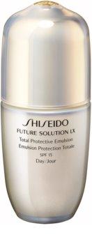 Shiseido Future Solution LX Total Protective Emulsion emulsão protetora diária SPF 15