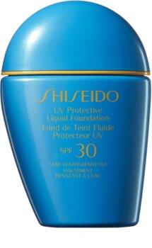 Shiseido Sun Care Protective Liquid Foundation fond de teint liquide waterproof SPF 30
