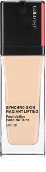 Shiseido Synchro Skin Radiant Lifting Foundation fond de teint liftant illuminateur SPF 30