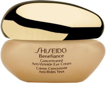 Shiseido Benefiance Concentrated Anti-Wrinkle Eye Cream Creme para os olhos contra o inchaço e rugas