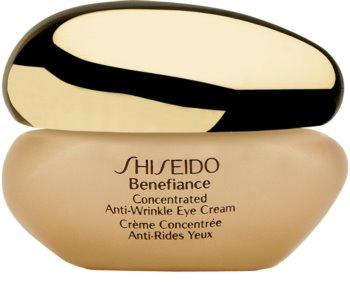 Shiseido Benefiance Concentrated Anti-Wrinkle Eye Cream крем для шкіри навколо очей проти набряків та зморшок