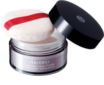 Shiseido Translucent Loose Powder poudre libre transparente