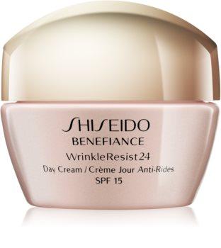 Shiseido Benefiance WrinkleResist24 Day Cream denný protivráskový krém SPF 15