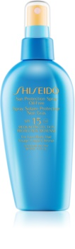 Shiseido Sun Care Sun Protection Spray Oil-Free спрей за загар  SPF 15