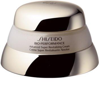 Shiseido Bio-Performance Advanced Super Revitalizing Cream revitalisierende und erneuernde Creme   gegen Hautalterung