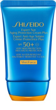Shiseido Sun Care Expert Sun Aging Protection Cream WetForce krem do opalania do twarzy SPF 50+