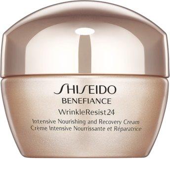 Shiseido Benefiance WrinkleResist24 Intensive Nourishing and Recovery Cream crema nutritiva intensiva  antiarrugas