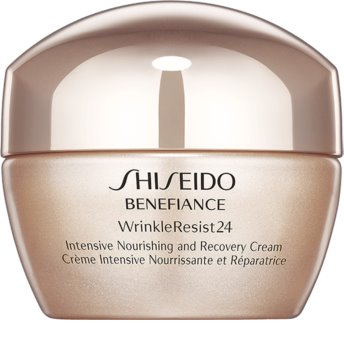 Shiseido Benefiance WrinkleResist24 Intensive Nourishing and Recovery Cream Ultra - crema nutritiva antirid