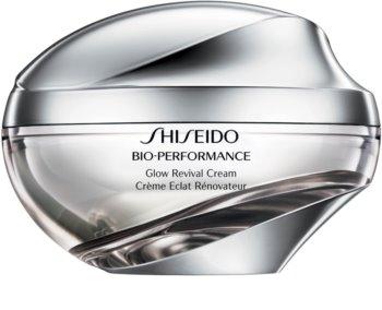 Shiseido Bio-Performance Glow Revival Cream πολυδραστήρια αντιρυτιδική κρέμα για λαμπρότητα και λείανση επιδερμίδας