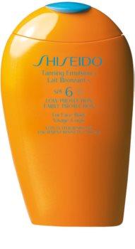 Shiseido Sun Care Tanning Emulsion napozótej SPF 6