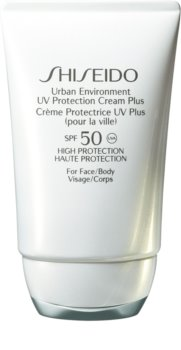 Shiseido Sun Care Urban Environment UV Protection Cream Plus crema hidratante protectora SPF 50
