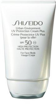 Shiseido Sun Care Urban Environment UV Protection Cream Plus hydratačný ochranný krém SPF 50