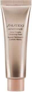 Shiseido Benefiance WrinkleResist24 Extra Creamy Cleansing Foam делікатна очищуюча пінка зі зволожуючим ефектом