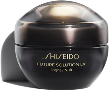 Shiseido Future Solution LX Total Regenerating Cream noční regenerační a protivráskový krém