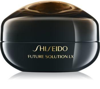 Shiseido Future Solution LX Eye and Lip Contour Regenerating Cream regeneráló krém a szem köré és a szájra