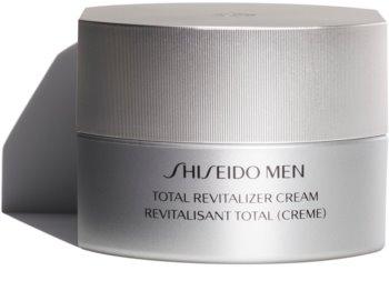 Shiseido Men Total Revitalizer Cream revitalizáló és megújító krém a ráncok ellen