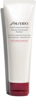 Shiseido Generic Skincare Deep Cleansing Foam hĺbkovo čistiaca pena pre mastnú a problematickú pleť