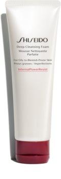Shiseido Generic Skincare Deep Cleansing Foam pianka dogłębnie oczyszczająca do cery tłustej i problematycznej