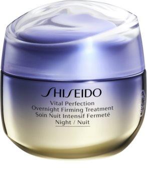 Shiseido Vital Perfection Overnight Firming Treatment liftingująco-ujędrniający krem na noc