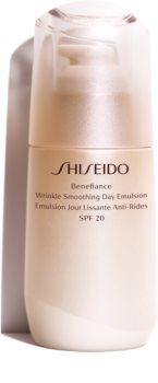 Shiseido Benefiance Wrinkle Smoothing Day Emulsion ochranná emulze proti stárnutí pleti SPF 20