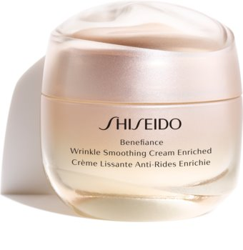 Shiseido Benefiance Wrinkle Smoothing Cream Enriched Anti-Wrinkle Day and Night Cream for Dry Skin