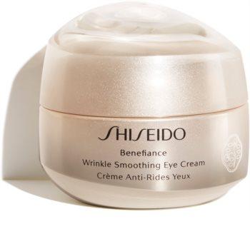 Shiseido Benefiance Wrinkle Smoothing Eye Cream Silmävoide Ryppyjä Ehkäisevän Vaikutuksen Kanssa