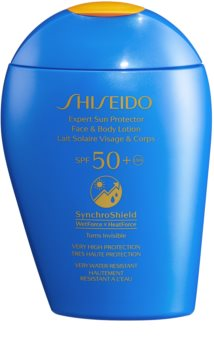 Shiseido Sun Care Expert Sun Protector Face & Body Lotion Sun Lotion for Face and Body SPF 50+