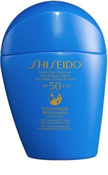 Shiseido Sun Care Expert Sun Protector Face & Body Lotion opalovací mléko na obličej a tělo SPF 50+