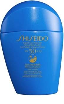 Shiseido Sun Care Expert Sun Protector Face & Body Lotion Sonnenlotion für Gesicht und Körper SPF 50+