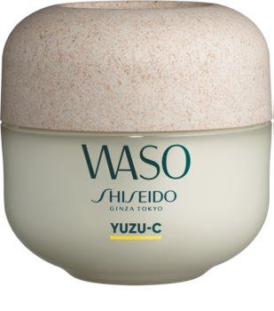 Shiseido Waso Yuzu-C zselés arcmaszk az arcra