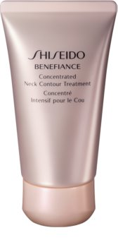 Shiseido Benefiance Concentrated Neck Contour Treatment crema  regeneradora antiarrugas para cuello y escote