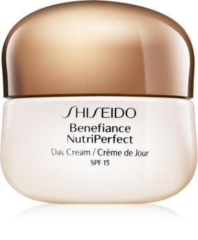 Shiseido Benefiance NutriPerfect Day Cream crema de día rejuvenecedora  SPF 15