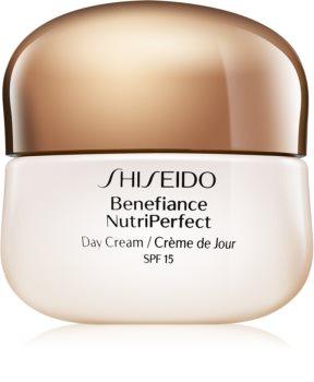 Shiseido Benefiance NutriPerfect Day Cream crema giorno ringiovanente SPF 15