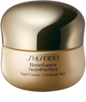 Shiseido Benefiance NutriPerfect Night Cream revitalisierende Nachtcreme gegen Falten