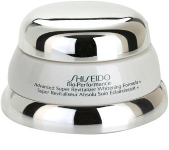 Shiseido Bio-Performance crema hidratante revitalizante contra problemas de pigmentación