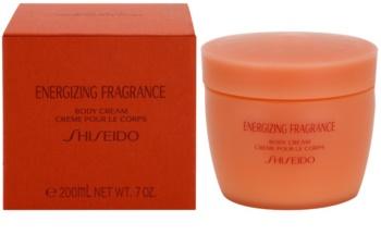 Shiseido Energizing Fragrance Body Cream tělový krém pro ženy