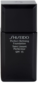 Shiseido Base Perfect Refining fard lichid de lunga durata SPF 15