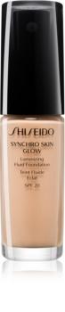 Shiseido Synchro Skin Glow Luminizing Fluid Foundation fond de teint illuminateur SPF 20