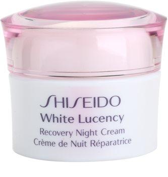 Shiseido White Lucency crema de noche hidratante contra problemas de pigmentación