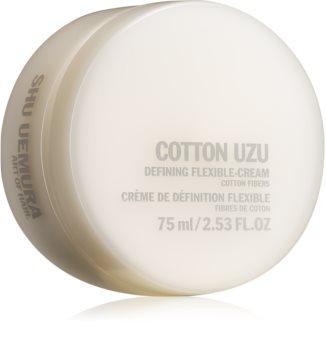Shu Uemura Cotton Uzu стилизиращ крем за чуплива коса