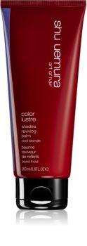 Shu Uemura Color Lustre balsamo per esaltare il colore dei capelli