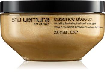 Shu Uemura Essence Absolue hloubkově vyživující maska pro všechny typy vlasů