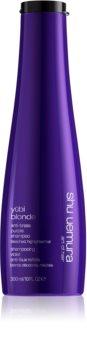 Shu Uemura Yūbi Blonde violettes Shampoo neutralisiert gelbe Verfärbungen