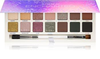 Sigma Beauty Enchanted Eyeshadow Palette палитра от сенки за очи
