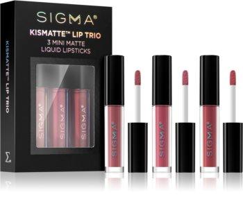 Sigma Beauty Kismatte set de labiales