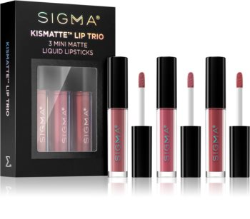 Sigma Beauty Kismatte комплект червила