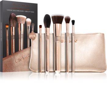 Sigma Beauty Iconic Brush Set Kit de pinceaux avec pochette  II.