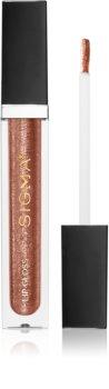 Sigma Beauty Untamed Lip Gloss гланц за устни с брокат