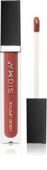 Sigma Beauty Untamed Liquid Lipstick стійка рідка матова помада