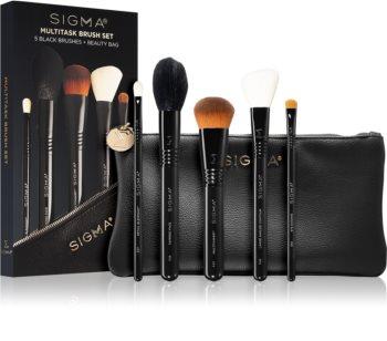 Sigma Beauty Untamed Multitask Brush Set Kit de pinceaux avec pochette